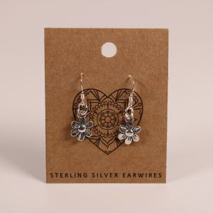 Daisy Earrings (Sterling Silver)
