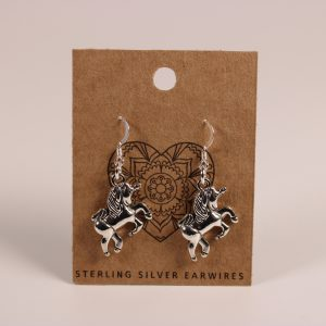 Unicorn Earrings (Sterling Silver)