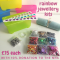 Rainbow Jewellery Making Kits
