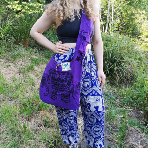 Purple Elephant Bag