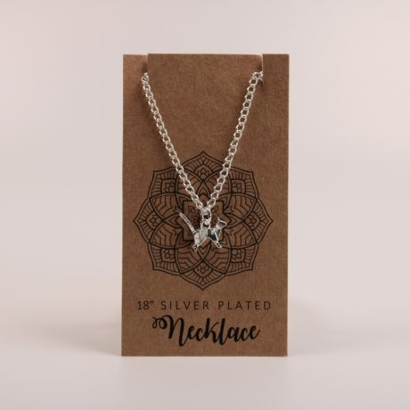 Cat Standing Necklace